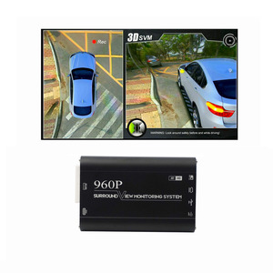 Universal HD 960P 360 around view car camera system Car DVR camera View Panorama System