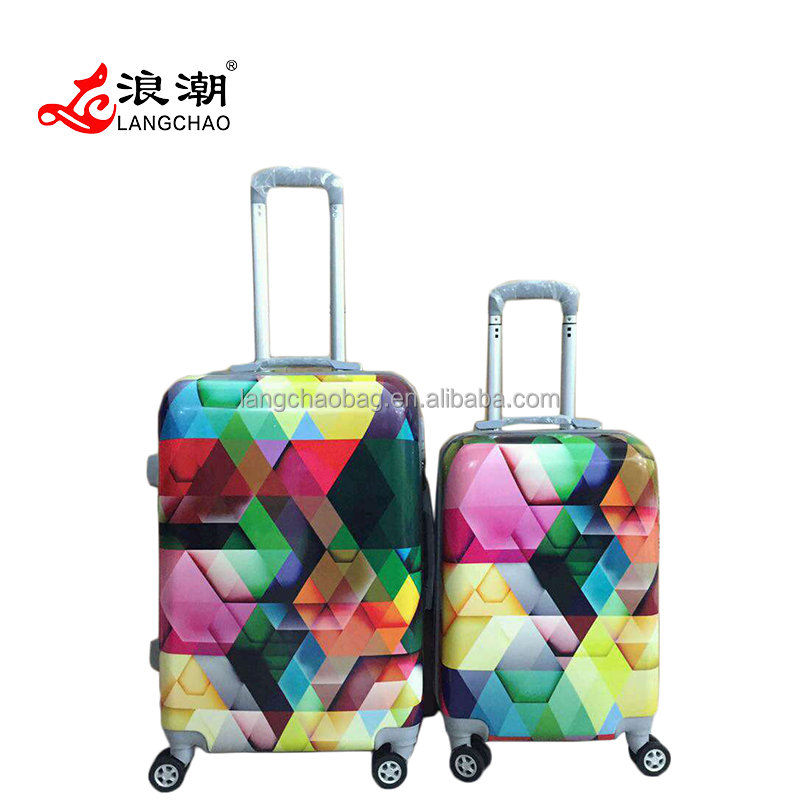 Polycarbonate Trolley 2016 New Design Cheap ABS Travel Luggage Set