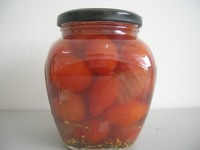 canned tomatoes cherry marined 580ML glass jar tomatoed fresh cherry tomatoes for sale
