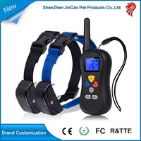 Lcd big dispaly collar remote for pet training