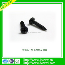 Factory produce for furniture carbon steel flat head self tapping screw