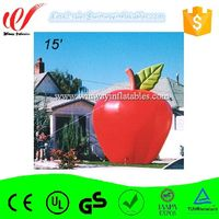 Apple cheap inflatable advertising balloons Y3179