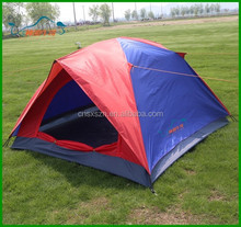 Steel Pole Family 3~4 person use Outdoor Camping Tent