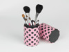 Pro cosmetics 5pcs makeup brushes set,cylinder case,holder travel,dancing doll line,cosmetics brushes set ,brush with BSCI