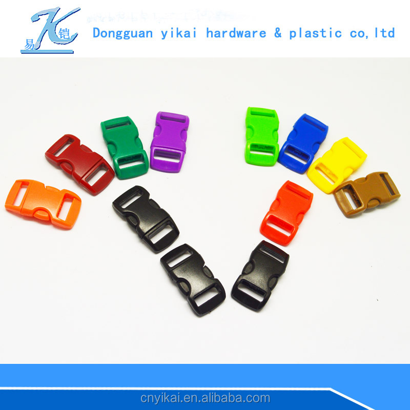 factory promotional plastic safety adjustable pet collar buckle,safety buckle for pets