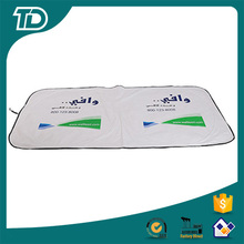 Advertising logo printing sun protector for car Tyvek sun shade