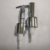 28mm Chrome stainless steel metal washing soap dispenser pump