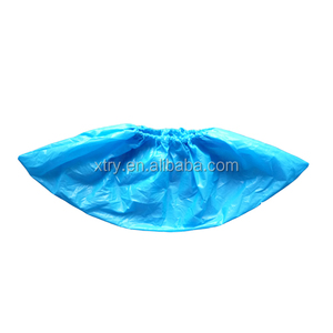 Medical consumable disposable PE/CPE plastic rain shoe covers
