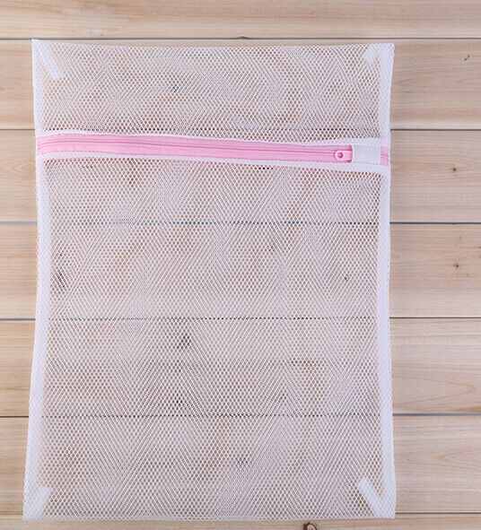 Ningbo Factory Made Reusable Drawstring Shoes Mesh Bag for Packing