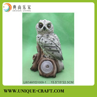 Poly resin bird figure for interior decoration