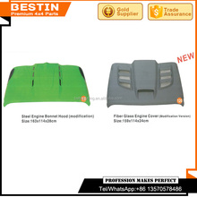 Maufacturer and wholesales steel engine bonnet hood(modification) for Jeep Wrangler JK