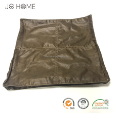 PU Accent Home Decorative Leather Sofa Cushions Covers