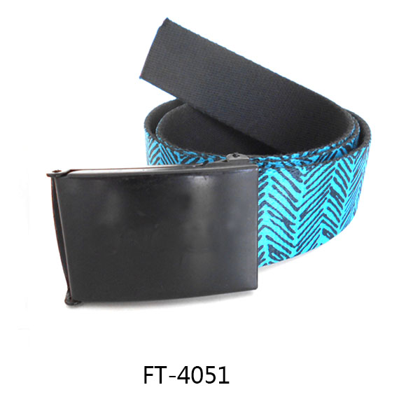 Sublimation Printing Belt Pattern Logo Belt