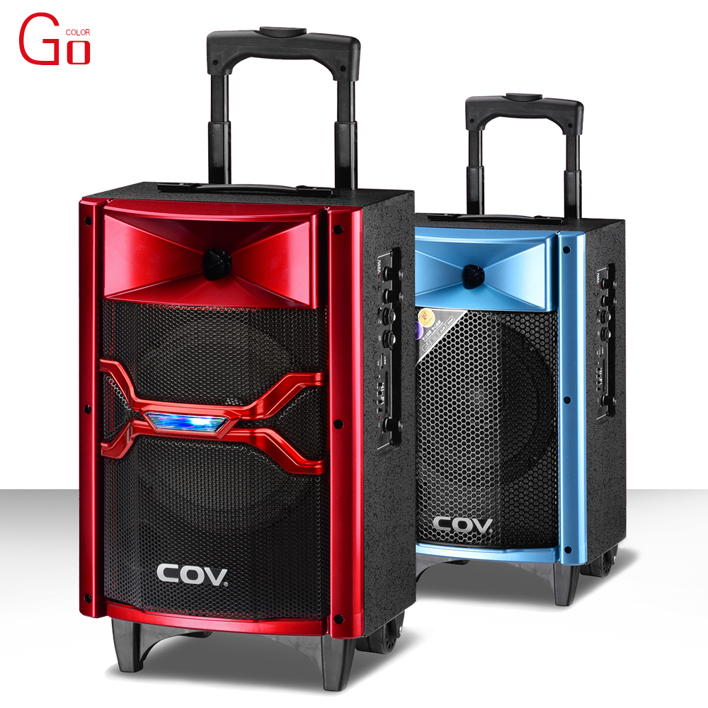Portable trolley discount audio speaker