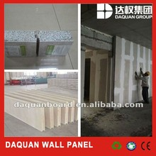 Easy installation and low cost EPS cement sandwich wall panel for partition wall