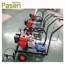 Hand-push thermoplastic road marker / road line paint machine / road marking machine for sale