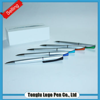Wholesale environmental stationery antibacterial ball pen