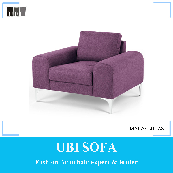 Modern minimalist style sofa chair for home furniture