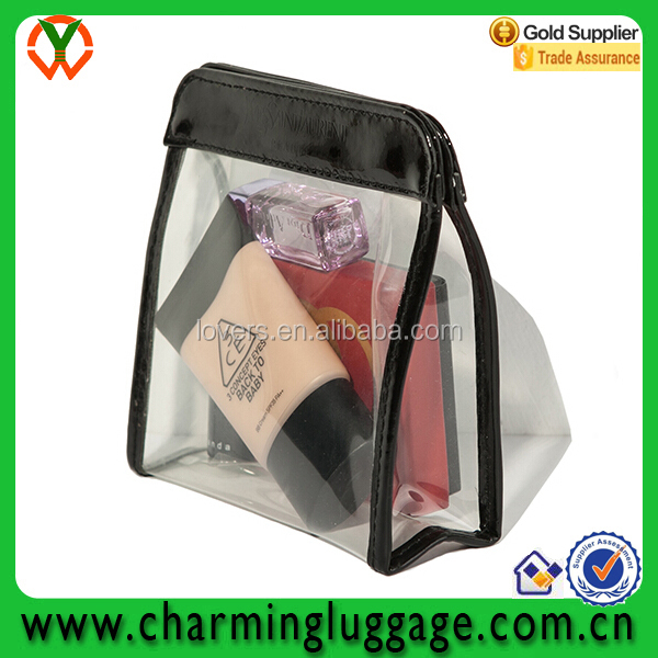 cheaper mini transparent clear pvc cosmetic bag
