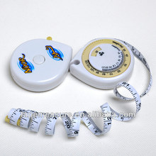 150cm/60inch mini cheap cute bmi measuring tape body measuring tape promotional medical gift with Your Logo