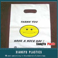 Plastic Handle Bags With Printing