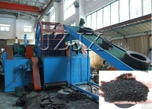 waste tyre recycling rubber powder machine