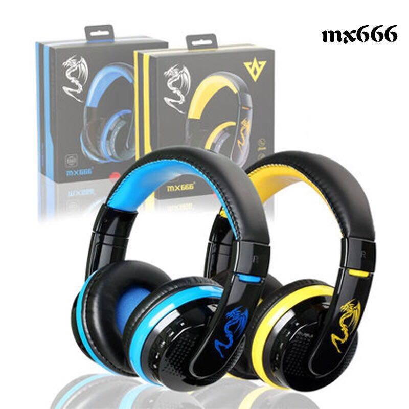 High Quality Sound Wholesale MX666 Bluetooth Headset ,MX666 Wireless Bluetooth Earphone Noise Cancelling
