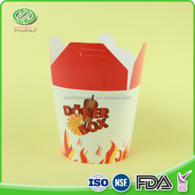 Cheap custom ripstop noodle fda approved food packaging boxes