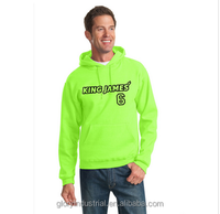 The Neon Color men graphic pullover hoodie