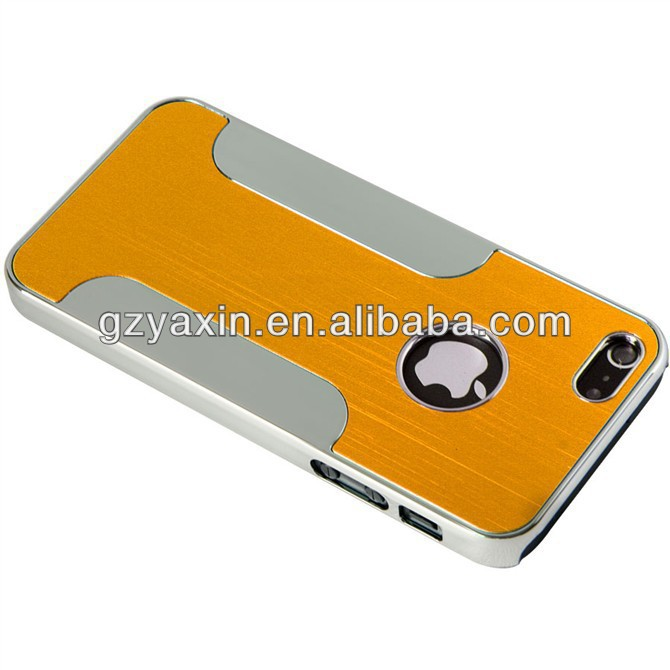 Factory price Ultra thin metal aluminum case for iphone 5,for apple iphone 5 metal case