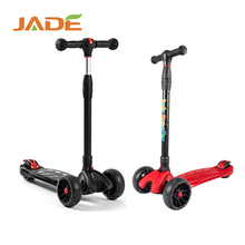 Best selling Flashing Foldable 4 Big Wheel Kids Kick Scooter Aluminium cheap children scooter