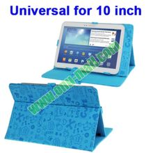 Magic Girl Style Universal Leather Case Cover for 10.1 inch Tablet PC with Holder