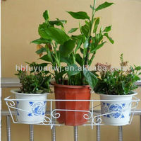 2014 new type wall mounted metal flower basket for sale (factory)