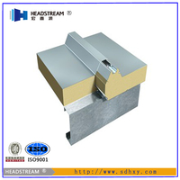High insulated pu sandwich panel metal wall panel stainless steel sheet and puf sandwich panel from shandong boxing