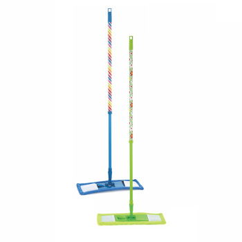 Microfiber Flat Mop With Adjustable Length 74~125CM