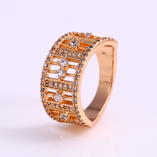 12245 Fashion jewelry elegant 18k gold finger rings, latest ring designs for girls