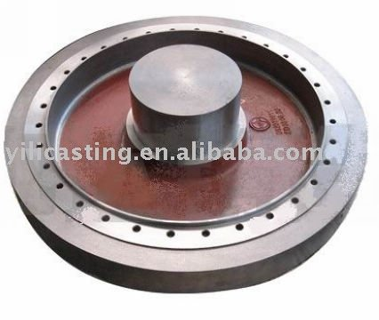 auto spare parts ductile iron casting green sand casting OEM casting service