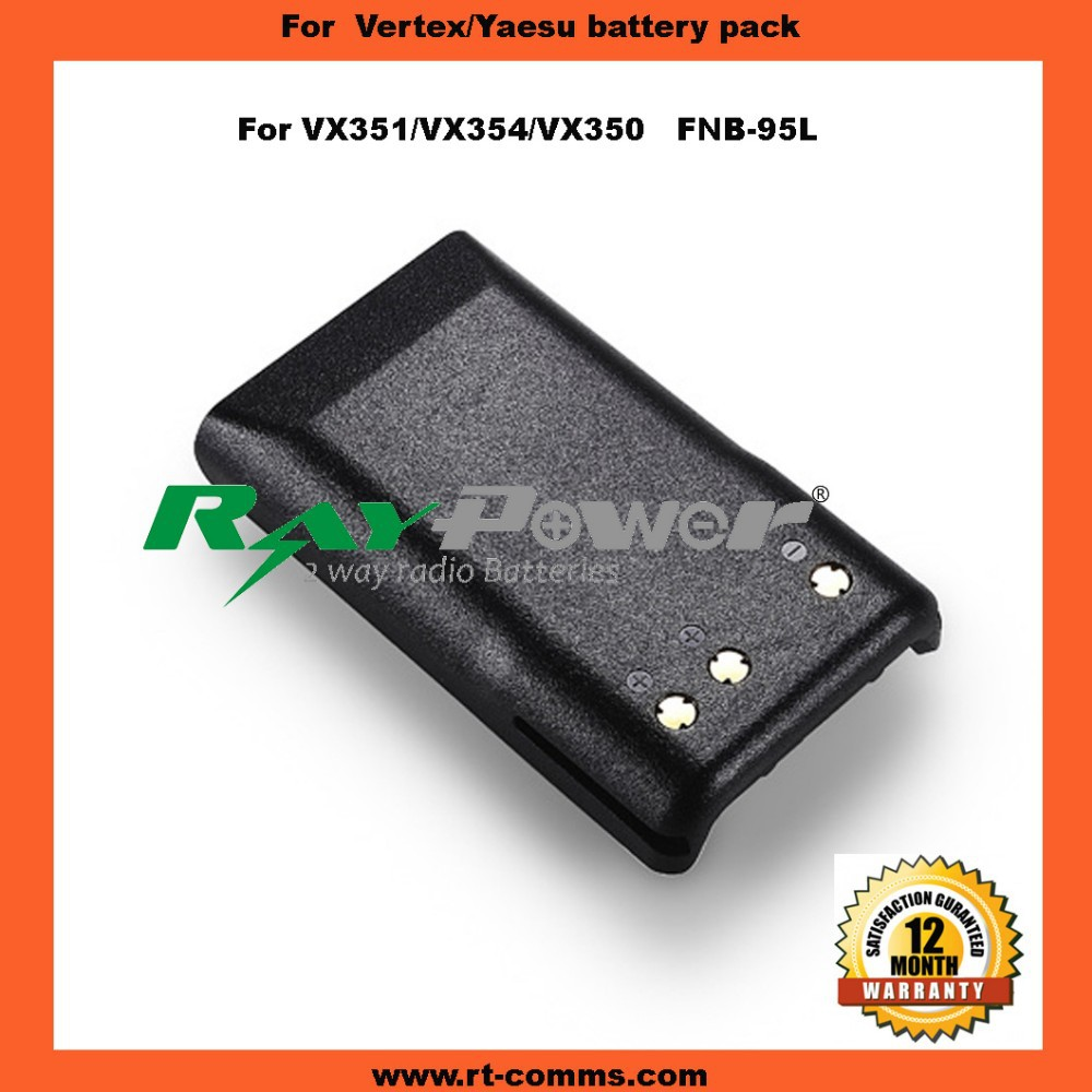 Two way radio Rechargeable battery FNB-V95L for Vertex VX351/VX354