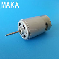 550JH16 small rotating variable speed electric dc motor