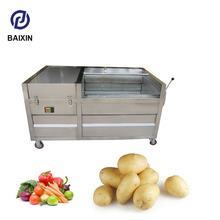 Automatic garlic peeling machine industrial onion peeling machine potato peeler with brush