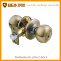 2016 USA best seller keyed entry door knob polish brass rekeyable contractor and mortgage project