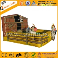 inflatable mechanical bull manufacturer A6040