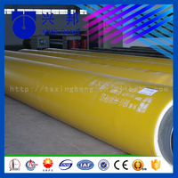 Large diameter water pipe 18inch with carbon steel pipe and rigid foam filled and hdpe sleeve for water supply