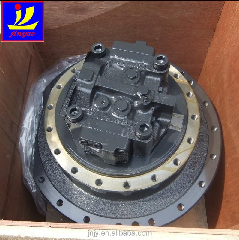 PC200-7-8 final drive, hydraulic excavator track drive motor part number 207-27-00371, New excavator final drive gearbox