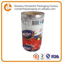 Indian snack packing snack foods distributors with heat transfer printing film for plastic