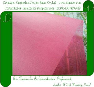 MG 17gsm Peach Red Gift Wrapping Paper,Colour Tissue Paper