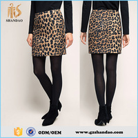 2016 guangzhou shandao summer hot selling printing beautiful young girls in short skirts