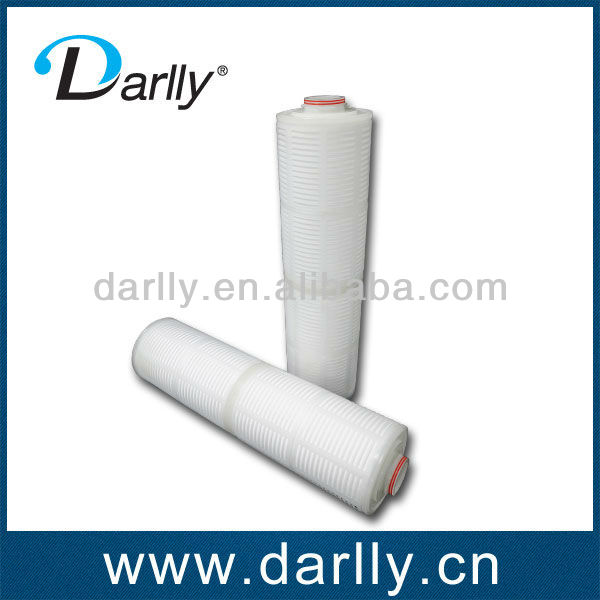0.22 Micron Pleated PES Water Filter Cartridge for Wine and Beer Industry