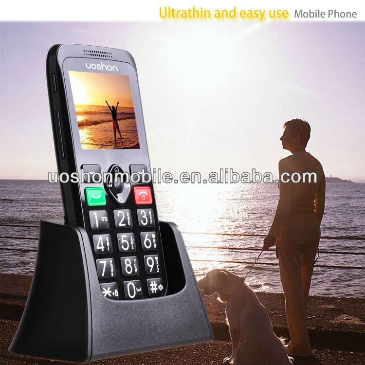 mobile unlock software with big button/ SOS/ mp3/ 0.3 Mega Pixel Camera