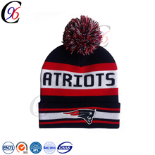 Chengxing brand plain custom fashion wholesale printed outdoor knitted pattern acrylic winter beanie hats